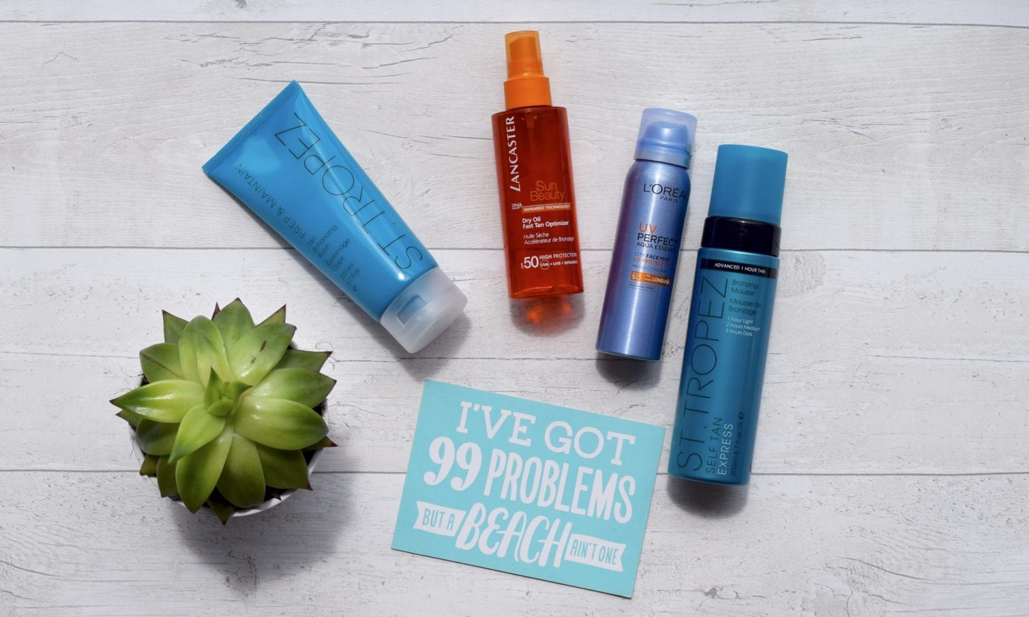 Top 4 Tanning Products You Need Now