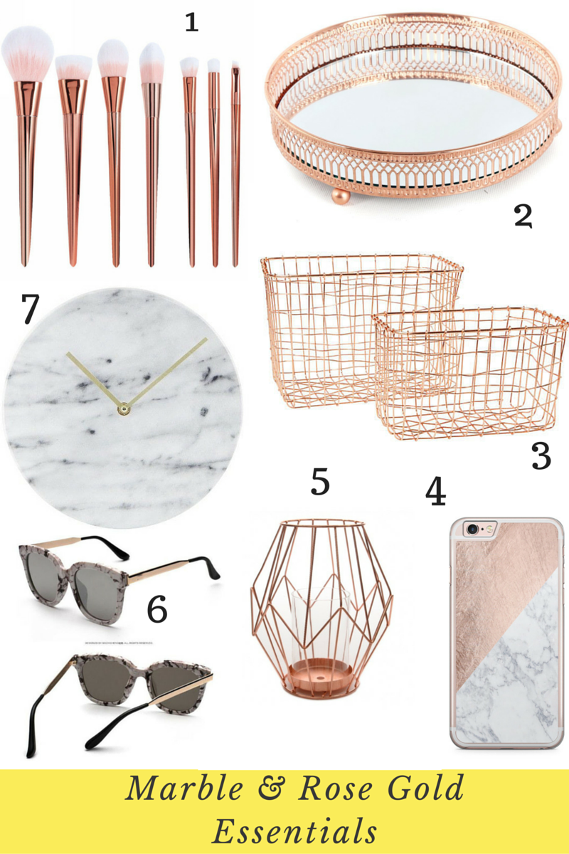 The Top Marble And Rose Gold Ebay Picks I Heart