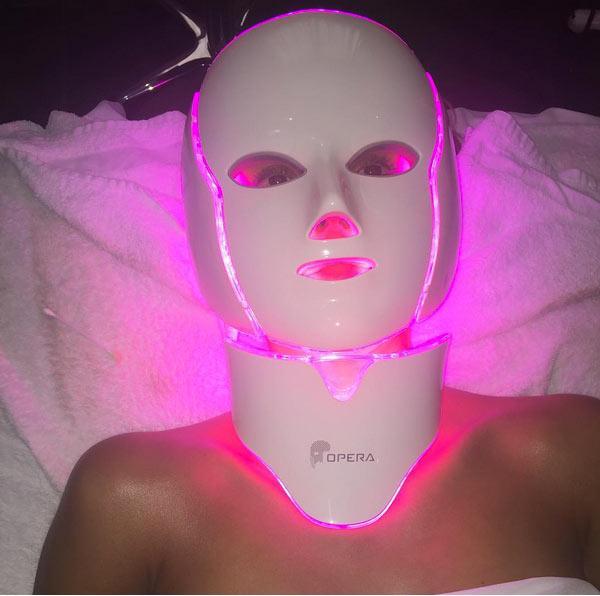Jessica Alba Opera LED Phantom Facial