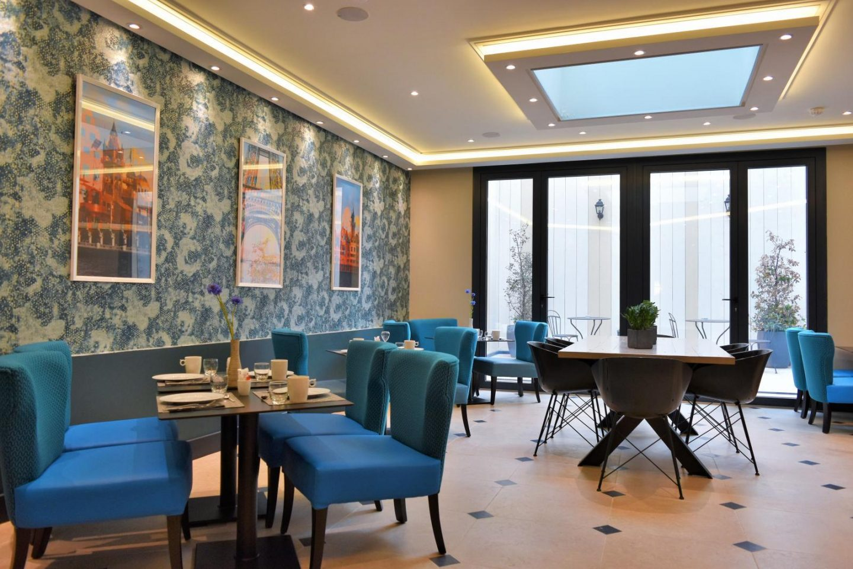 The Blue Breakfast Room
