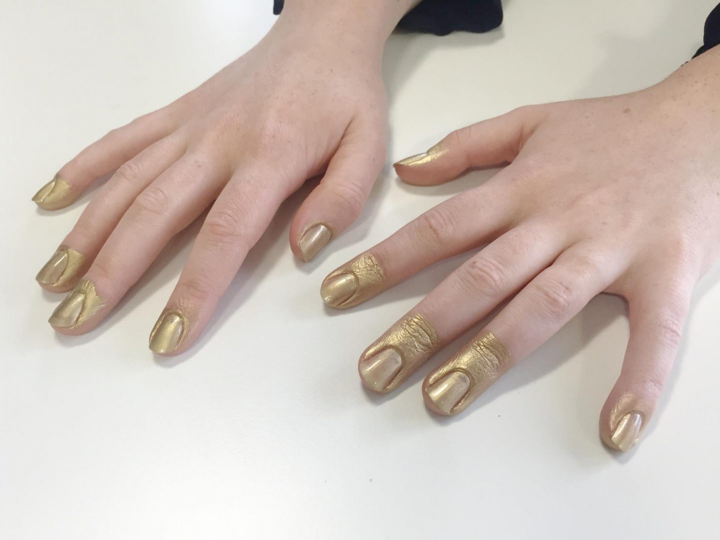 Nails Inc Paint Can Good as Gold
