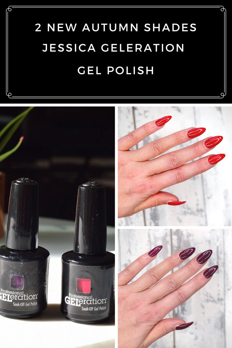 Jessica Geleration New Gel Polish Shades For Autumn