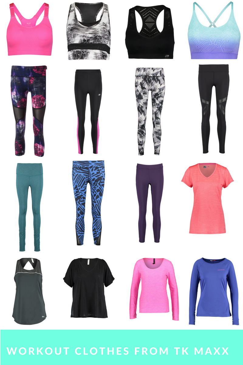 Cute & Cheap Workout Clothes From TK Maxx