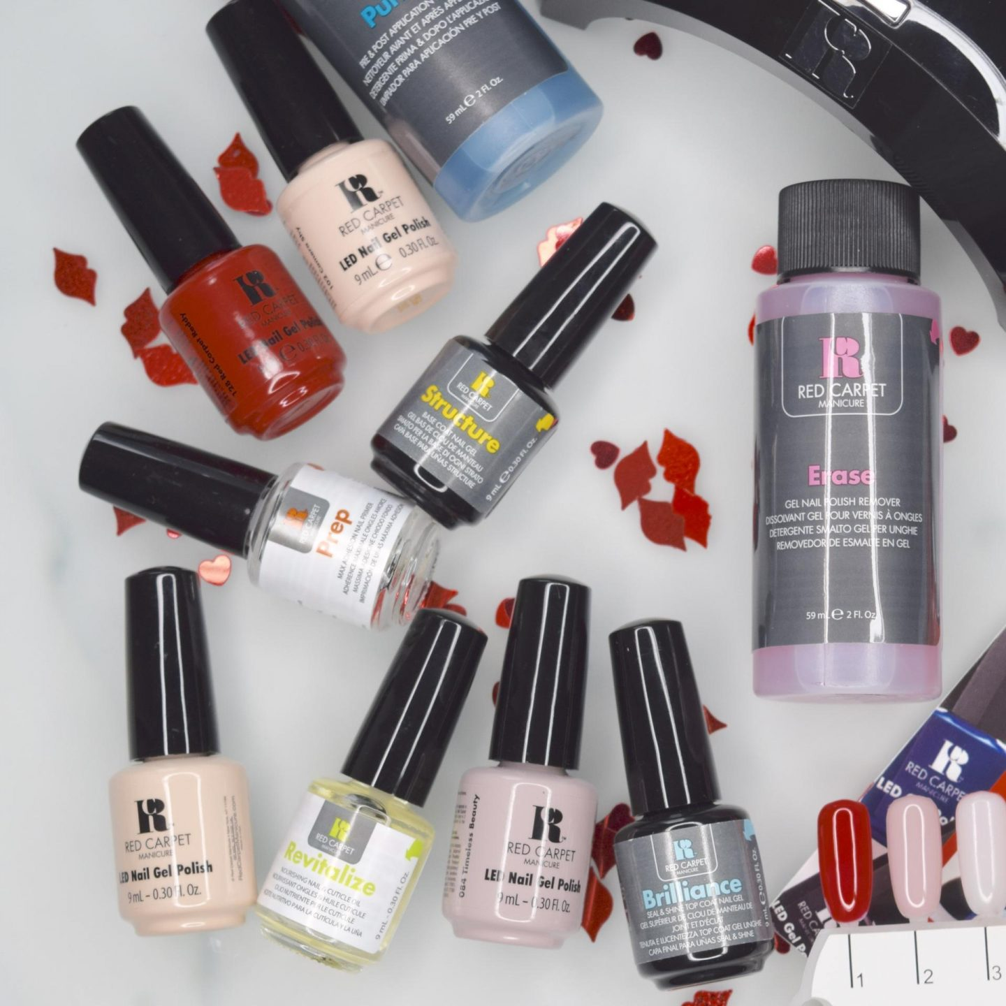 RED CARPET MANICURE GEL POLISH KIT REVIEW