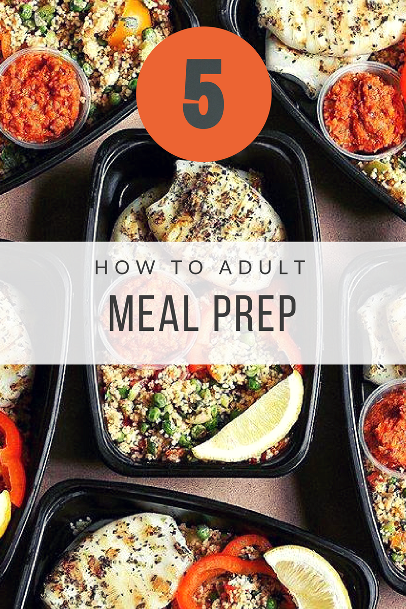 Simple Weekly Meal Prep Tips