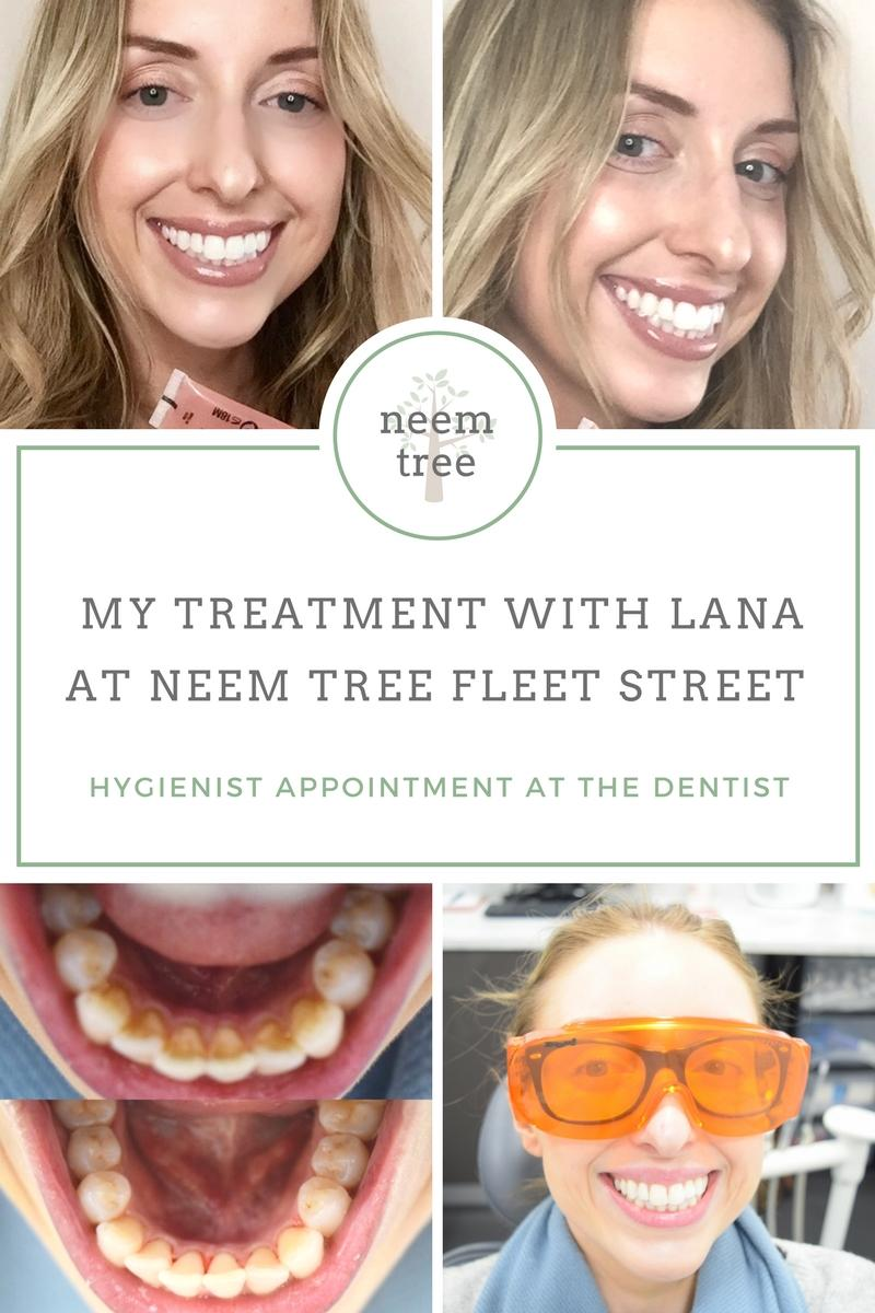 Hygienist Appointment with Lana at Neem Tree Fleet Street