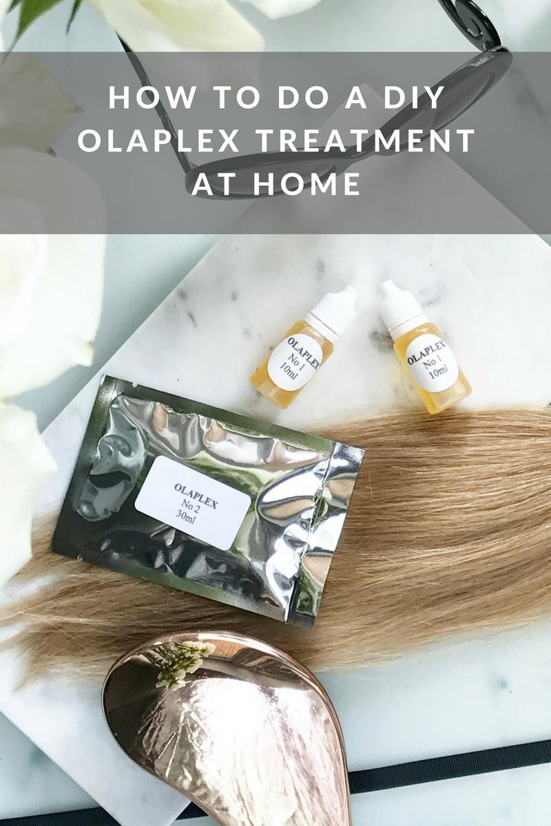 How to do a DIY Olaplex Treatment at Home