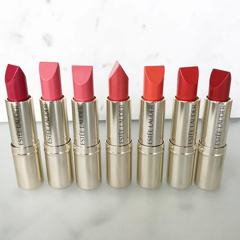 Estee Lauder Pure Colour Love Lipstick – Reds and Oranges