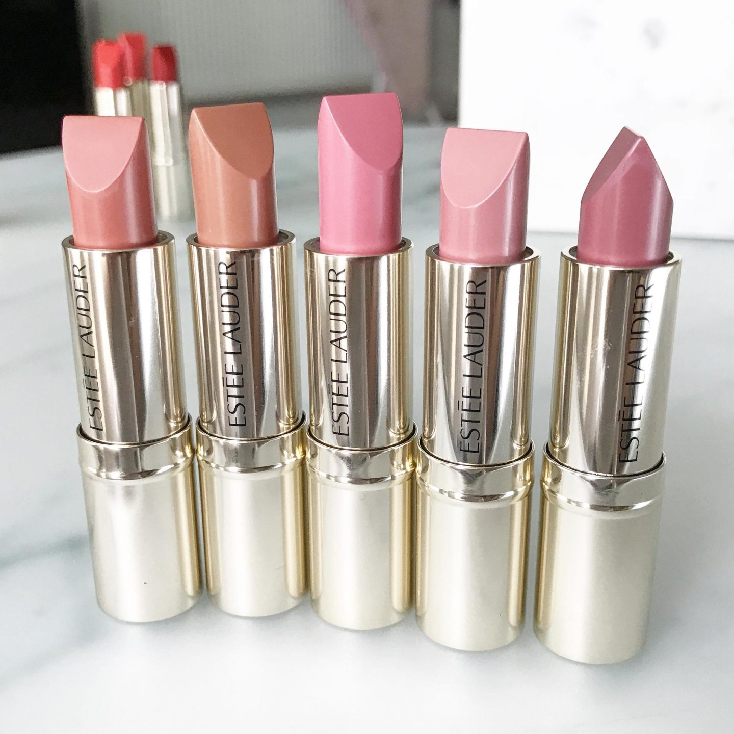 Estee Lauder Pure Colour Love Lipstick - The Nudes