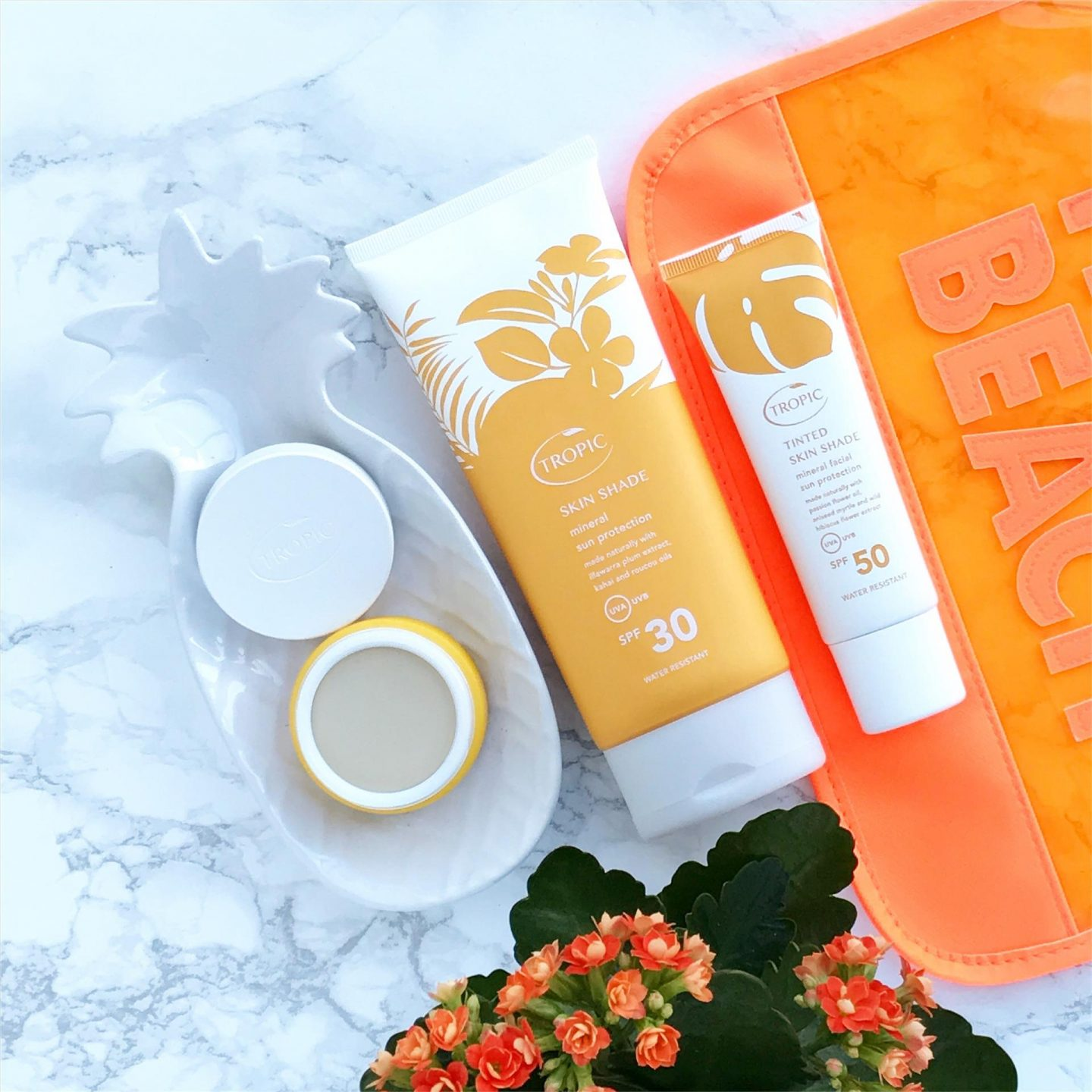 Vegan Sun Screen with Tropic Skincare