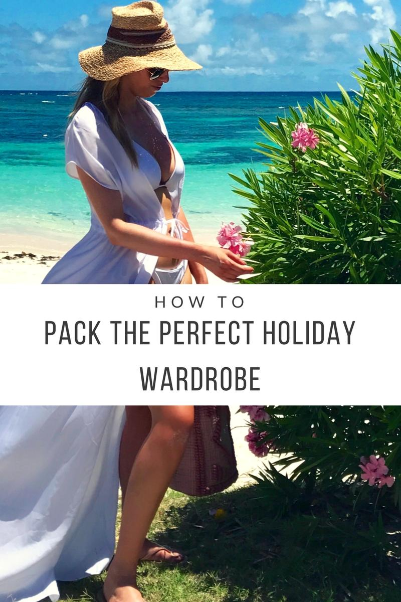 How To Pack The Perfect Holiday Wardrobe