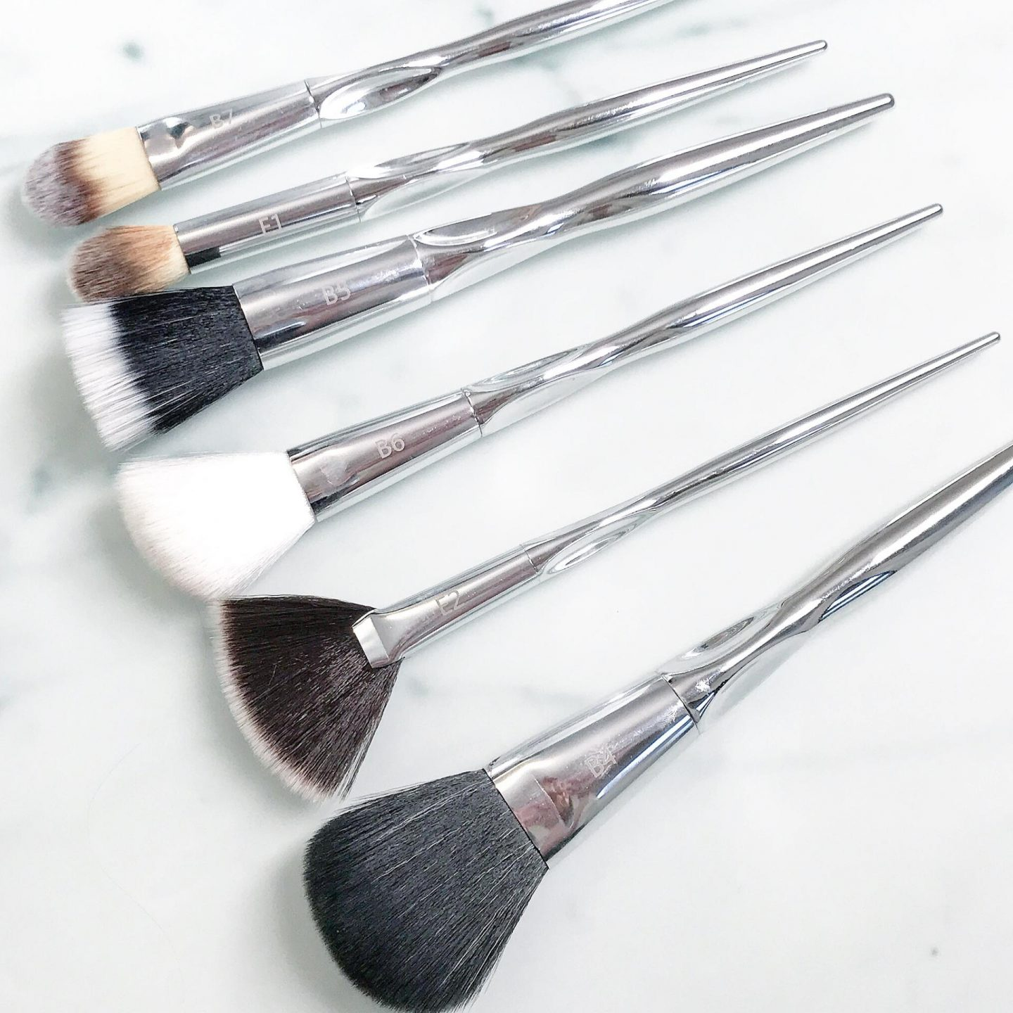 Beau Belle Marble Makeup Brush Set Review
